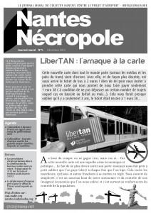 Nantes Nécropole - Journal mural n°1 (page 1 - jpg)