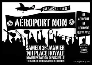 Affiche manif mensuelle janvier 2013