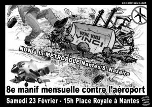 Affiche manif mensuelle février 2013